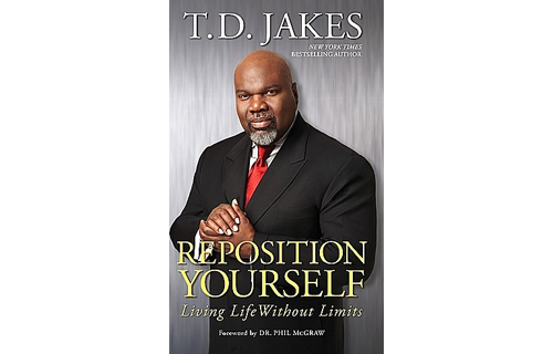 Darnell Henderson, 32, Founder, H.I.M-istry  Reposition Yourself: Living Life Without Limits by T.D. Jakes