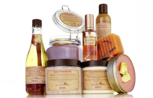 For ladies, skin and/or hair care products from Carol's Daughter will give that spa-like feel without leaving the confines of your home.
