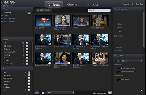 "Make sure it has an uncomplicated user interface. You also want a provider that has a clean and easy to control content management system. ""A lot of providers offer a 30-day free trial and allow you to kick the tires,"" says Drey, who started VidCompare in September 2009 to help businesses understand the differences between the host offerings on different platforms. ""I encourage people to do that because… you will be spending a lot of time in that CMS [Content Management System]. You want it to feel comfortable to you."" You don't want to be confused about where your video goes when you upload it, or how to interpret the stats. For a clean user interface that's easy to understand try Vzaar and Wistia."