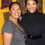 Jill Scott and Karen Taylor Bass