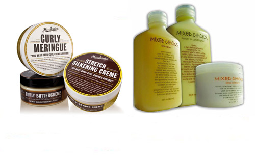 If hair care is what you're looking for, Miss Jessie's Original and Mixed Chicks tame unruly manes and make for increased manageability.