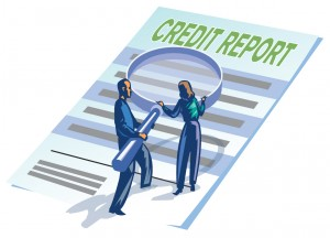 credit report book