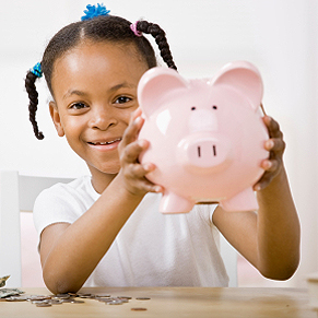 Kids. Parents or guardians should begin teaching their children about basic money concepts as soon as they are able to understand what money is and how it works. There are plenty of games, books, toys, and other educational tools available to help you do this. Among them are The Millionaire Kids Club book series ($12.95; Advantage World Press) by Lynnette Khalfani-Cox and Susan Beacham and the Money Savvy Pig.