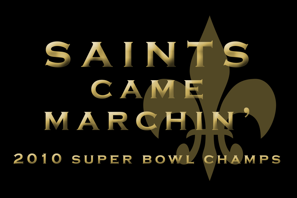 New Orleans Saints Win Super Bowl: Still struggling to make a full comeback after the hit it took from Hurricane Katrina in 2005, New Orleans became the shining example of resiliency as their football team, the Saints, delivered a win at Super Bowl XLIV on Feb. 7, 2010.