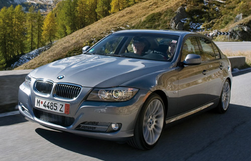 """BMW 335d: Do you like the 3 series, but don't feel like seeing your exact car 20 times a day? Opt for a diesel. At 265hp and 36mpg, you really won't be sacrificing much of its """"ultimate driving"""" heritage; plus you'll be ahead of the curve when (err, if) diesel power rightfully catches on. MSRP: $44,150"""