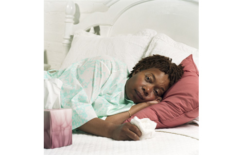 "Stay at home-- Workers are often hesitant about cashing in their sick days, but they could be doing more harm than good. According to a Staples Advantage survey, 65% of employees are coming to work sick. Dr. Williams disagrees with this dangerous behavior. ""It's definitively not a practice that the CDC recommends.  You should definitely stay away from your work and should not return till 24-hours after your fever ends."""