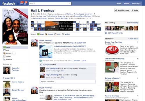 Facebook is more than a way to just catch up with old high school or college friends.  Most companies are using social networks like Facebook similarly to how lenders use credit reports and FICO scores to identify behavior patterns. I use it as a background check to get additional data points on a person I may do business with.    Pro: Easy to build deep connections.  Great third-party applications. Con: Easy to mismanage personal information in a public domain.