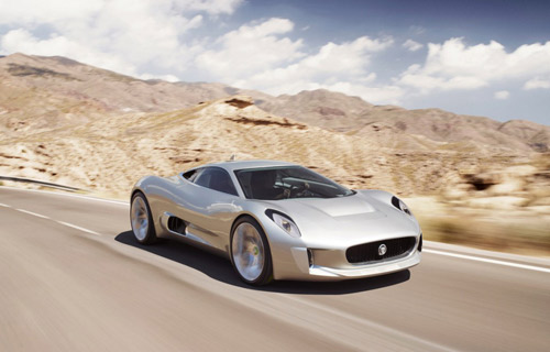JAGUAR C-X75: While only a concept with no real plans for production, Jag's new turbine-powered top-cat is about as literal an example of outside-the-box thinking as one can get. Take away the confines of a traditional combustion engine, and both style and function take on completely new meanings. If nothing else, it's a sign of great things to come. MSRP: N/A