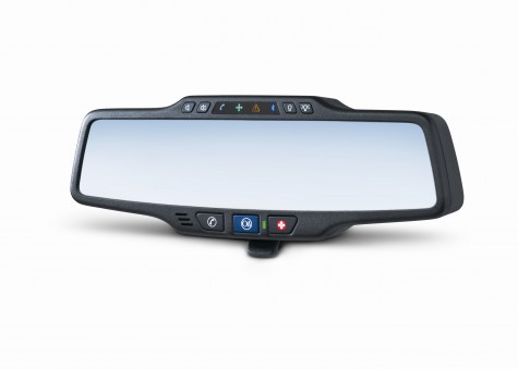 THE ONSTAR MIRROR BY ONSTAR For many years, OnStar has led the industry in providing safety, security, and GPS features. But if you didn't own a GM car, it was unlikely that you could take advantage of the service. Last night, OnStar announced that it will introduce a retail rear view mirror that can be mounted on most U.S. vehicles, both used and new, beginning in Spring 2011. Currently, the OnStar mirror is certified to work on 99% of the top 20 selling non-GM vehicles from the last 10 years, or approximately 55 million cars and trucks, with more certifications on the way. The mirror will offer the same key features that OnStar has become known for, including automatic crash response, stolen vehicle location assistance, turn-by-turn navigation, and hands-free calling, among others. It will cost $299, plus installation, which is expected to cost between $75 and $100 at BestBuy and other selected consumer electronics retailers. A range of service plans will be available, starting at $18.95 a month or $199 a year.