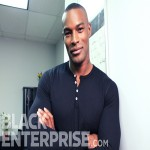 Tyson Beckford stops by Black Enterprise headquarters.