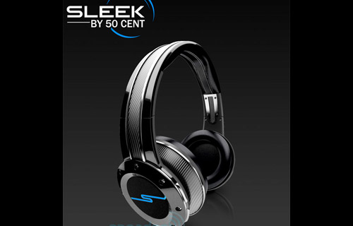 "SLEEK BY 50 CENT: The result of a partnership between Curtis ""50 Cent"" Jackson and Sleek Audio,  these headphones are billed as ""the new standard for wireless hybrid performance. Using klear technology, Sleek deliver a unique audio experience for listeners both wirelessly or wired. Available later this year for an estimated $350 a pair, Sleek headphones will be the first in a series of audio products to be delivered to the market."