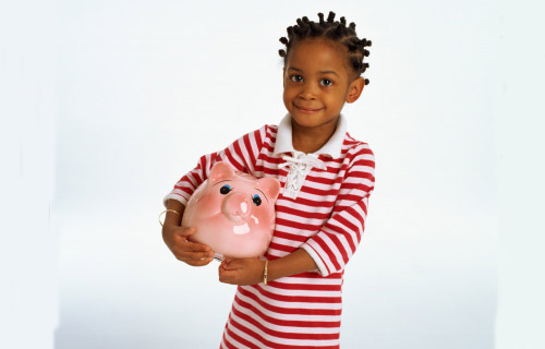 """START EARLY:  """"The earlier you start, the more moneywise children you'll have,"""" says Seymour.   As early as age five, use play money like Monopoly so that they understand that purchases require an exchange at a certain value. Show them how to sort coins and teach them their value. Share utility bills to show them the direct impact of their behavior, such as leaving lights on or running water when it's not in use. Use the grocery store as a learning tool. Make a grocery list and get kids to cut and organize coupons with you, review the weekly store circular for savings."""