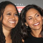 DuVernay with I Will Follow star Salli Richardson-Whitfield  (Marcia Wade Talbert)