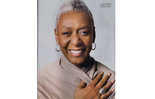 Bethann Hardison (6th Annual Women of Power Legacy Award recipient) You might catch a glimpse of her while interviewing some of the modeling industry's up-and-coming Black models on Vogue Italia's website—where she's editor-at-large, but Ms. Hardison is known just as much for what she's done behind the scenes as she's done in front of the camera. The former model, agent, businesswoman and writer started Bethann Management Co, Inc. in 1984, signing big name supermodels Naomi Campbell and Tyson Beckford. She's made history with Beckford by signing him to an exclusive contract with designer Ralph Lauren. It was the first contract of its kind ever to be given to an African-American male model.