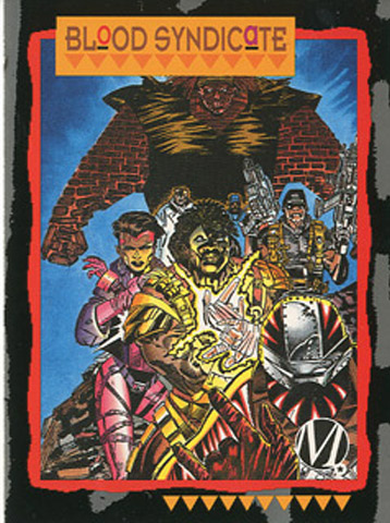When Milestone launched the first four titles—Hardware, Blood Syndicate, Icon and Static—all were polybagged with Skybox International trading cards of each character. McDuffie and Cowan helped oversee the production of the trading cards that was launched during the spring of 1993. It would become the first set of trading cards from a comic book line produced and owned by African Americans.