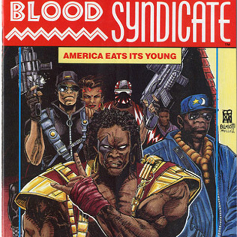 When Blood Syndicate #1 launched in February 1993, it was considered the most controversial of Milestone's core titles, depicting a group of outcast street gang members who gained super powers when they were sprayed with radioactive gas during a police action. Tough and gritty, its members learned the importance of brotherhood by being forced to work together. Co-creator McDuffie wrote the first issue, giving these gang members depth, humanity and plenty of attitude.