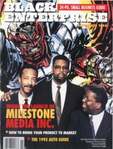 Cowan, McDuffie and BE's own Derek Dingle cover Black Enterprise's Nov. 94 issue