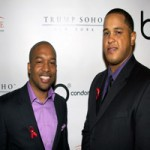 Co-founders, Jason Panda, Esq. and Ashanti Johnson, at the b condoms launch event at Trump Soho in NYC