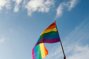 The LGBT flag is a symbol of pride for many (Source: Thinkstock)