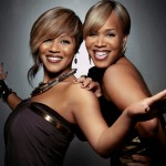 Mary Mary shares gospel truth with host Marc Lamont Hill. (Photo courtesy Columbia Records)