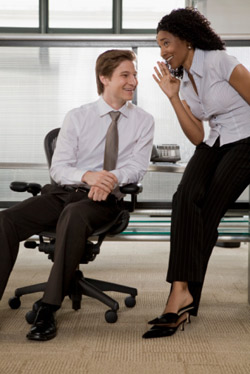 Office gossip about confidential matters can create a uncomfortable work enviornment (Source: Thinkstock)