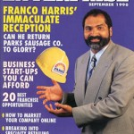 Harris' 1996 Black Enterprise Cover