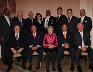 The esteemed panel of Advertising Hall of Fame inductees (Image: Doug Goodman)