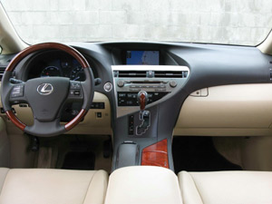 The lap of luxury (Image: Lexus)