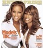 Iman (right) graces cover of Black Enterprise with protege Tyra Banks