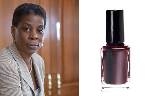 URSULA BURNS  	CEO, Xerox 	As the CEO and chairwoman of Xerox, Ursula Burns is the first African-American woman to run one of the largest publicly traded companies. Burns (No. 14 on the BE Titans: 40 Most Powerful African-Americans in Business list) has been with the company since 1980 when she started as an intern. Today, she's the driving force behind taking the $22 billion copier and printer company to new heights. Her prowess puts her in political circles as well; Burns is working closely with President Obama to improve science and math education in U.S. public schools. 	POLISH PICK: Royal Flush. The cherry cola color is versatile, appropriate for the boardroom and client dinner parties. Not too distracting, it hits the mark in adding a sophisticated touch yet calming edge to the occasion. A shade like this lets someone like Burns focus on the more important things (while looking good doing it).
