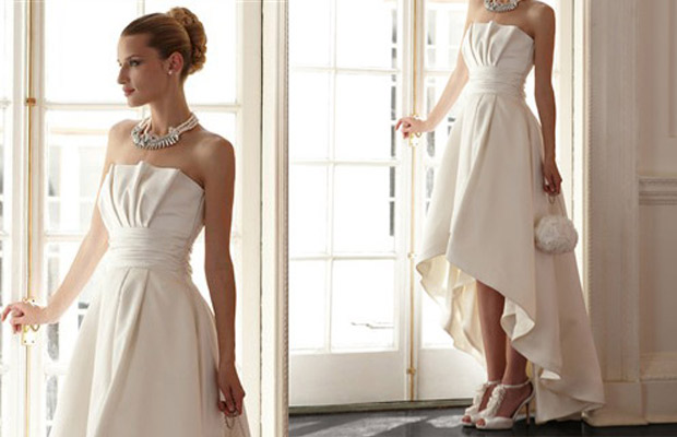 White House/Black Market features gowns in its bridal boutique starting at $348.