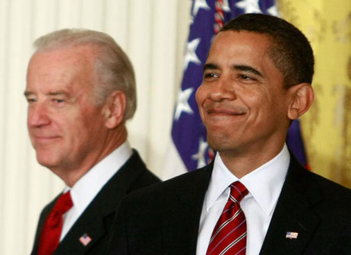 Obama And Biden Discuss Middle Class Working Families Taskforce