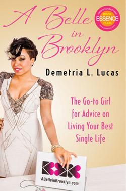 A Belle in Brooklyn book cover by Demetria L. Lucas