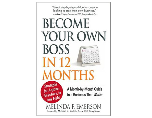 Become Your Own Boss In 12 Months: A Month-by-Month Guide to a Business That Works by Melinda F. Emerson (Read my book review)