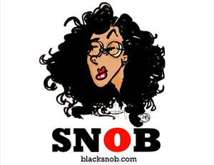 Danielle Belton's the Black Snob logo