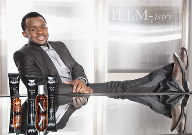 Darnell Henderson (@HIMistry) 	Henderson saw there was a need for specific men's skincare products and moved in with a solution. The founder of H.I.M-istry Skincare, Inc. offers a selection of au naturale skincare products, including cleansers, creams and toners. H.I.M-istry is sold online and in more than 100 Macy's department stores nationwide.