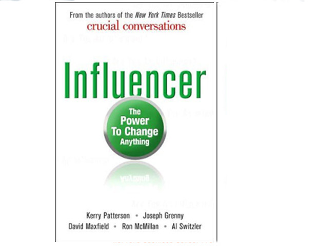 Influencer: The Power to Change Anything by Kerry Patterson (McGraw-Hill; $27)