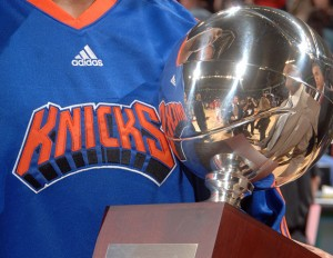 New York Knicks Slam Dunk Contest Trophy
