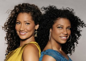 Natural haircare product company founders Wendy Levy and Kim Etheredge (Image: Mixed Chicks)