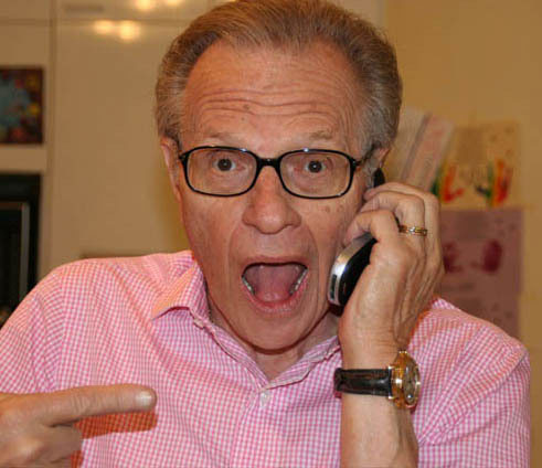 Larry King Twitter avatar