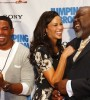 Actors Laz Alonso, Paula Patton and Bishop T.D. Jakes know they have a hit on their hands. (Image: Vernon Bryant, courtesy TDJ Enterprises/The FrontPage Firm)