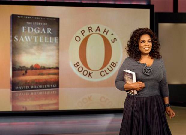 Oprah's Book club presenting latest book