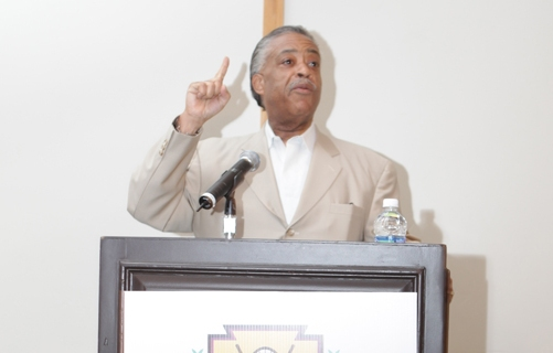 Al Sharpton gives a Sunday morning word of inspiration.