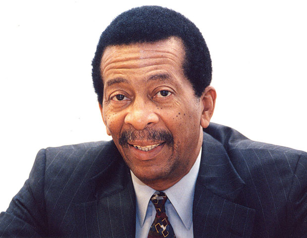 AMERICAN URBAN RADIO NETWORKS: Sydney L. Small, co-founder of American Urban Radio Networks (1991) (pictured). AURN was a partnership between Sheridan Broadcasting Corp. and the National Black Network, another radio station conglomerate Small co-founded.