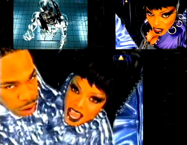 "5) Busta Rhymes feat. Janet Jackson ""What's it Gonna Be?!"" (1999)  Another big budget production helmed by visionary Hype Williams, this clip highlighted Terminator 2-like effects with Busta and Jackson transformed into liquid figures. The hi-tech features raised the budget for this sultry video up to a reported $2.4 million."