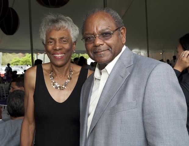 Sylvia and Eddie C. Brown