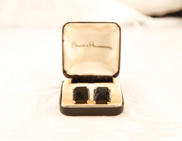 Bourne & Hollingsworth vintage cufflinks