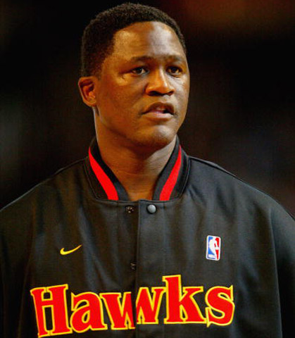Dominique Wilkins  Playing a majority of his career for the Atlanta Hawks, Wilkins was a phenomenal presence on the court. Known as the Human Highlight Film, his flashy moves and tomahawk dunks earned the nine-time All-Star two Slam Dunk Contest wins. Prior to his last three NBA seasons, Wilkins never averaged less than 20 ppg and earned the scoring title in the 1985-86 season thanks to his 30.3 ppg average. Throughout the 80s, the franchise player led the Hawks to four consecutive seasons with 50+ wins. However, his career stats of 26,668 points and 7,169 rebounds never resulted in a successful championship run.