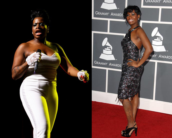Singer Fantasia took to the American Idol stage a slim phenom from North Carolina and throughout her career has faced public and media scrutiny about her weight. She reportedly cited stress after professional and personal scandal as the cause for putting on extra pounds, and many got a glimpse into her issues via her reality TV show Fantasia For Real, watching as her management and family urged her to exercise to relieve stress and improve her image.