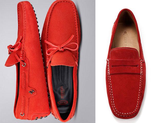 TOD'S for Ferrari Gommin & Zara driving shoes